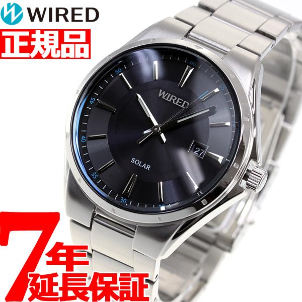 セイコー ワイアード SEIKO WIRED ソーラー 腕時計 メンズ ニュースタンダードモデル AGAD402