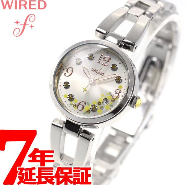 セイコー ワイアード エフ SEIKO WIRED f ミモザの日 限定モデル 腕時計 レディース AGEK742【2018 新作】