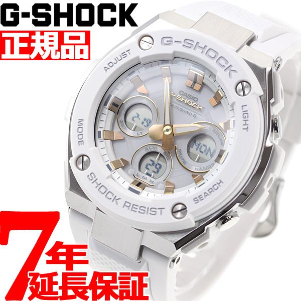 G-SHOCK 電波 ソーラー 電波時計 G-STEEL カシオ Gショック Gスチール CASIO 腕時計 メンズ タフソーラー GST-W300-7AJF