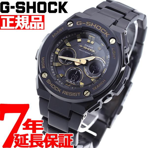 G-SHOCK 電波 ソーラー 電波時計 G-STEEL カシオ Gショック Gスチール CASIO 腕時計 メンズ タフソーラー GST-W300BD-1AJF