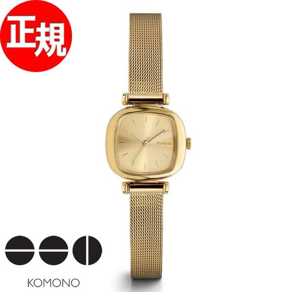 【お買い物マラソンは当店がお得♪本日20より!】KOMONO 時計 レディース コモノ 腕時計 マニーペニー ロイヤル ゴールド KOM-W1242