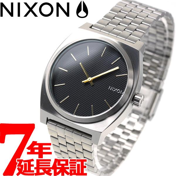 【お買い物マラソンは当店がお得♪本日20より!】ニクソン NIXON タイムテラー TIME TELLER 腕時計 メンズ/レディース ブラックスタンプ/ゴールド NA0452730-00