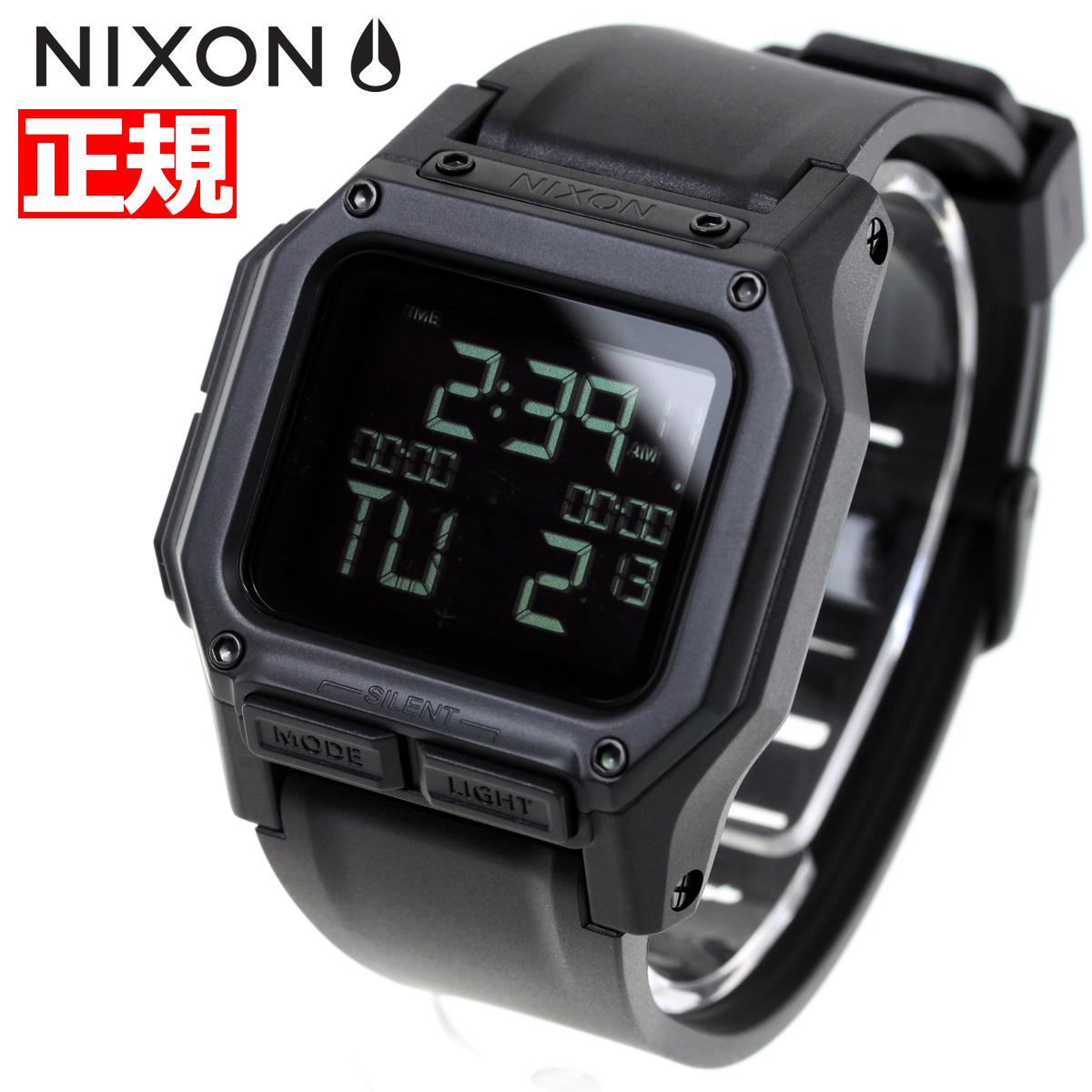 ニクソン NIXON レグルス REGULUS 腕時計 メンズ ALL BLACK NA1180001-00【2018 新作】