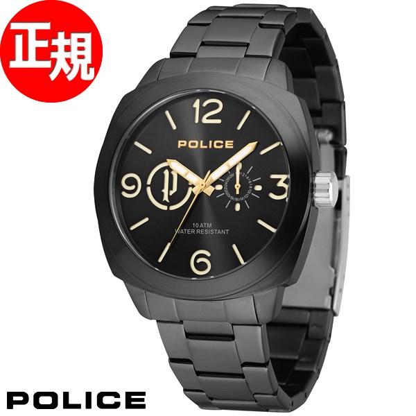 ポリス POLICE 腕時計 メンズ コンテキスト CONTEXT 14717JSB/02MA