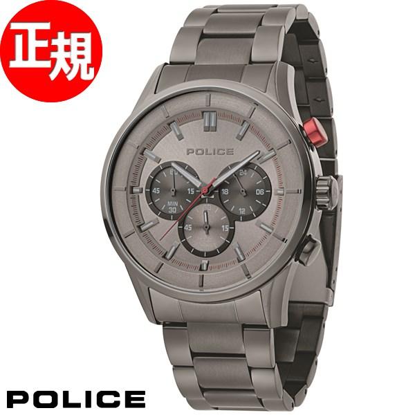 ポリス POLICE 腕時計 メンズ ラッシュ RUSH クロノグラフ 15001JSU/13M