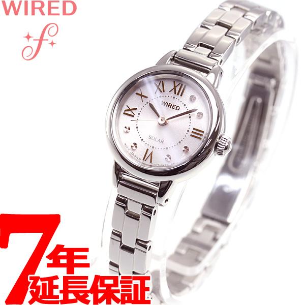セイコー ワイアード エフ SEIKO WIRED f ソーラー 腕時計 レディース AGED094【2018 新作】