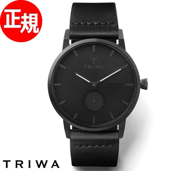 【お買い物マラソンは当店がお得♪本日20より!】トリワ TRIWA 腕時計 メンズ レディース ミッドナイト ファルケン MIDNIGHT FALKEN FAST115-CL010101