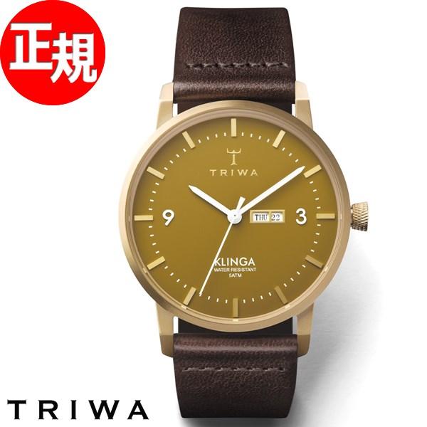 【お買い物マラソンは当店がお得♪本日20より!】トリワ TRIWA 腕時計 メンズ レディース 日本限定モデル マスタード クリンガ MUSTARD KLINGA KLST111-CL010413
