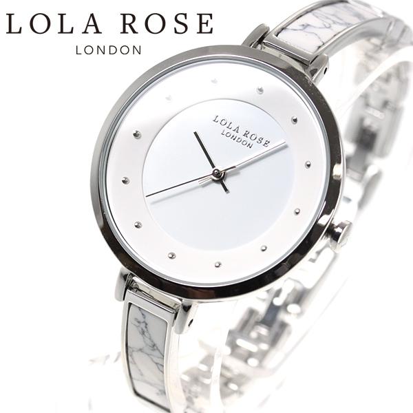 ローラローズ Lola Rose 腕時計 レディース Bangle with Stone Insert LR4021【2018 新作】