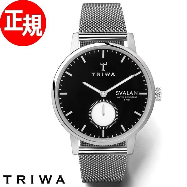 トリワ TRIWA 腕時計 レディース エボニー スバーラン EBONY SVALAN SVST103-MS121212【2018 新作】