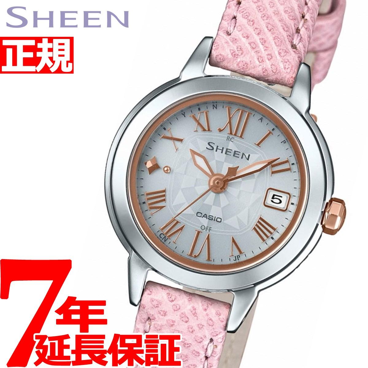 カシオ シーン CASIO SHEEN 電波 ソーラー 電波時計 腕時計 レディース SHW-5000LTD-7AJR【2018 新作】