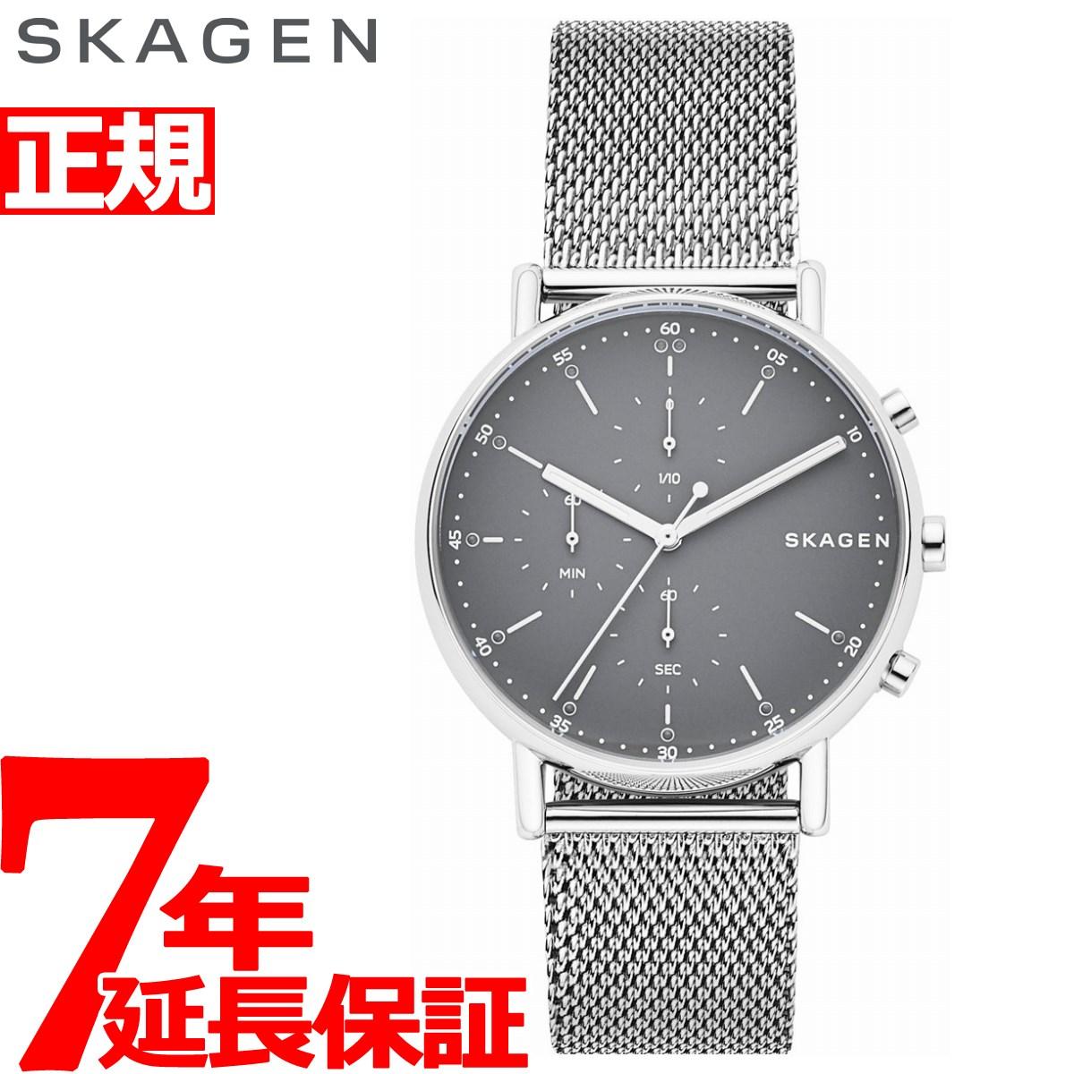 【お買い物マラソンは当店がお得♪本日20より!】スカーゲン SKAGEN 腕時計 メンズ シグネチャー SIGNATUR クロノグラフ SKW6464【2018 新作】