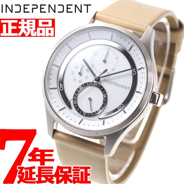 インディペンデント INDEPENDENT ソーラーテック 腕時計 メンズ イノベーティブライン マルチカレンダー KB1-317-10【2018 新作】