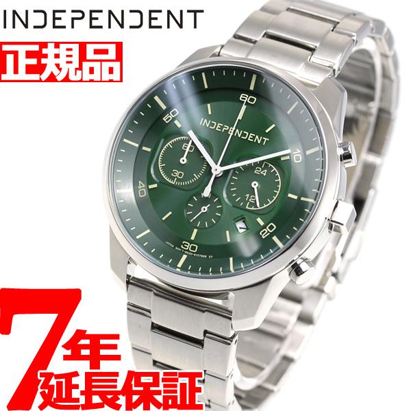 インディペンデント INDEPENDENT ソーラーテック 腕時計 メンズ イノベーティブライン クロノグラフ KF5-217-41【2018 新作】