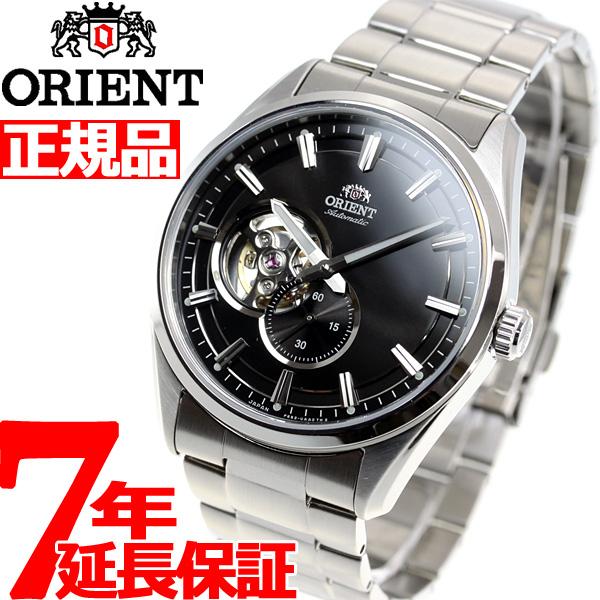 オリエント 腕時計 メンズ 自動巻き 機械式 ORIENT コンテンポラリー CONTEMPORARY セミスケルトン RN-AR0001B【2018 新作】
