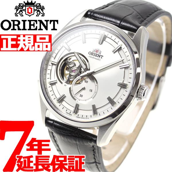 オリエント 腕時計 メンズ 自動巻き 機械式 ORIENT コンテンポラリー CONTEMPORARY セミスケルトン RN-AR0003S【2018 新作】