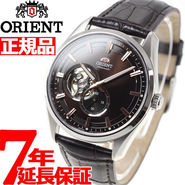 オリエント 腕時計 メンズ 自動巻き 機械式 ORIENT コンテンポラリー CONTEMPORARY セミスケルトン RN-AR0004Y【2018 新作】