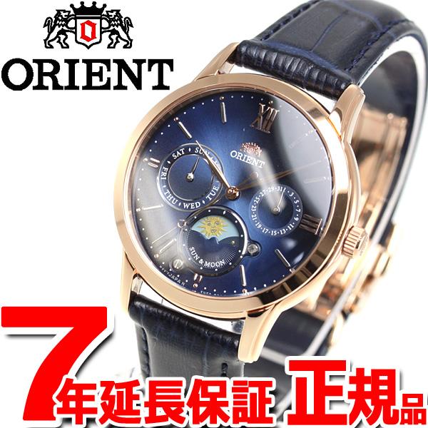 オリエント 腕時計 レディース ORIENT クラシック CLASSIC サン&ムーン RN-KA0004L【2018 新作】