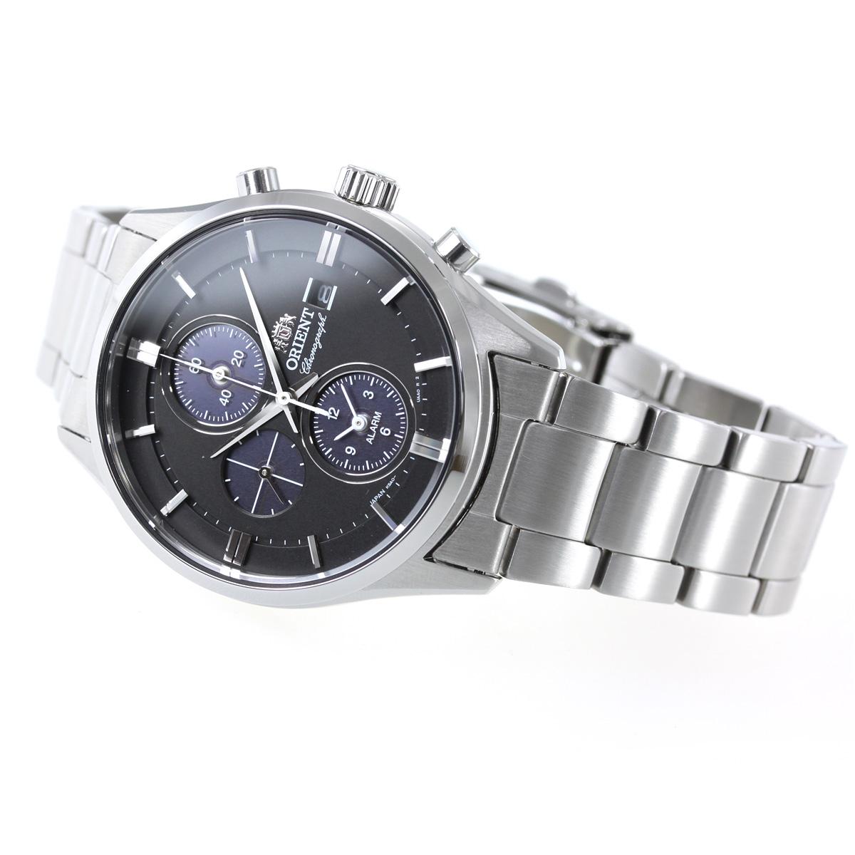 オリエント 腕時計 メンズ ソーラー ORIENT コンテンポラリー CONTEMPORARY クロノグラフ RN-TY0002B【2018 新作】