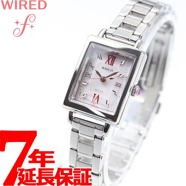 セイコー ワイアード エフ SEIKO WIRED f ソーラー 腕時計 レディース AGED102【2018 新作】