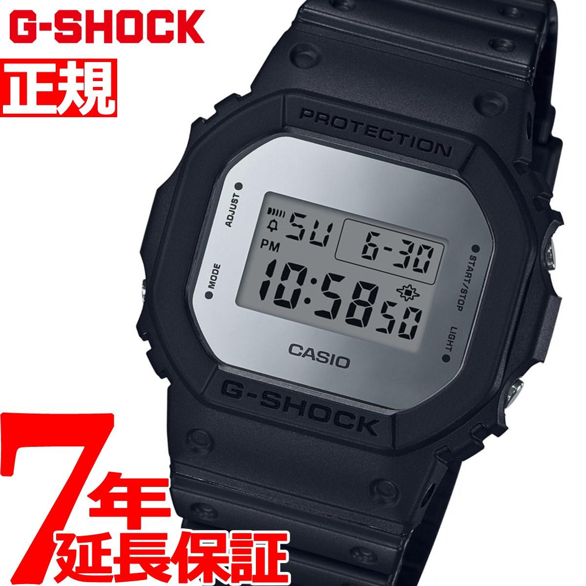 G-SHOCK デジタル 5600 カシオ Gショック CASIO 限定モデル 腕時計 メンズ メタリック ミラーフェイス シルバー Metallic Mirror Face DW-5600BBMA-1JF【2018 新作】