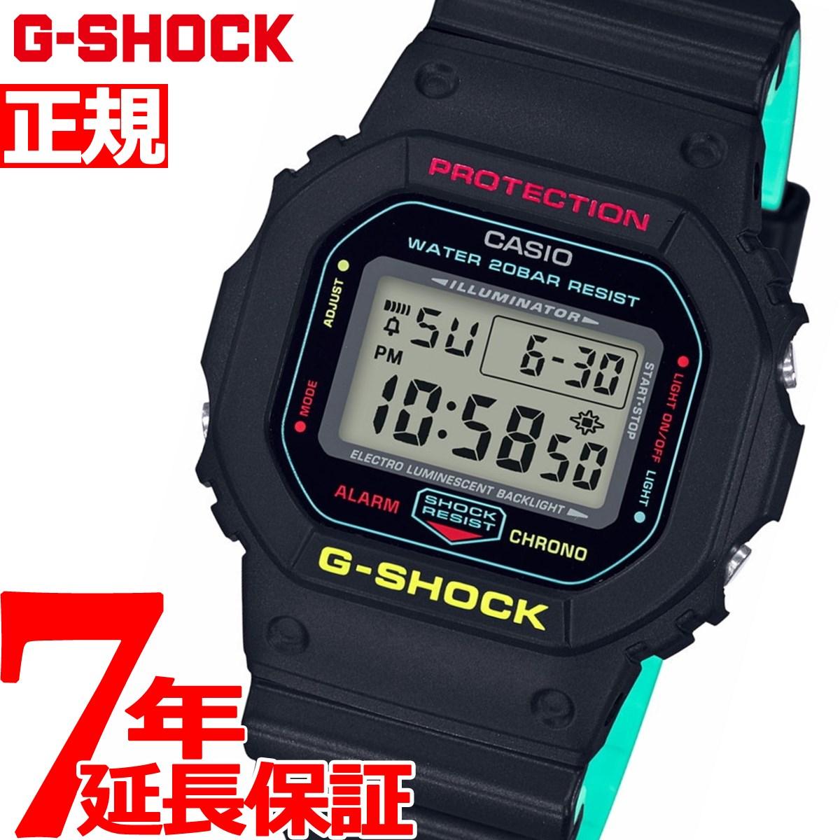 G-SHOCK デジタル 5600 カシオ Gショック CASIO 限定モデル 腕時計 メンズ ブリージー ラスタカラー Breezy Rasta Color DW-5600CMB-1JF【2018 新作】