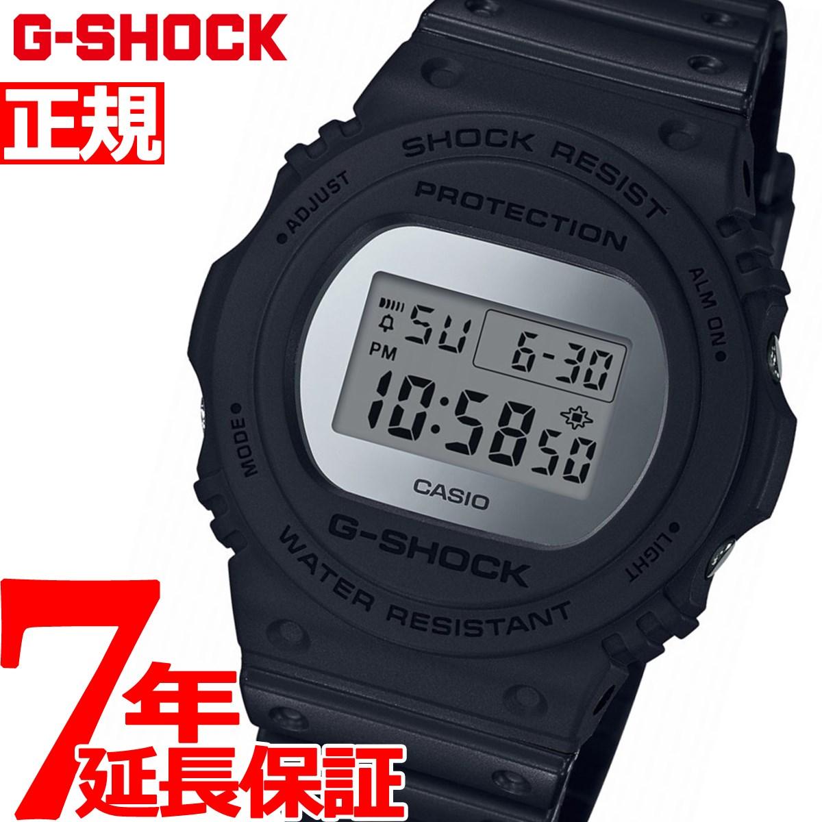G-SHOCK デジタル 5700 カシオ Gショック CASIO 限定モデル 腕時計 メンズ メタリック ミラーフェイス シルバー Metallic Mirror Face DW-5700BBMA-1JF【2018 新作】