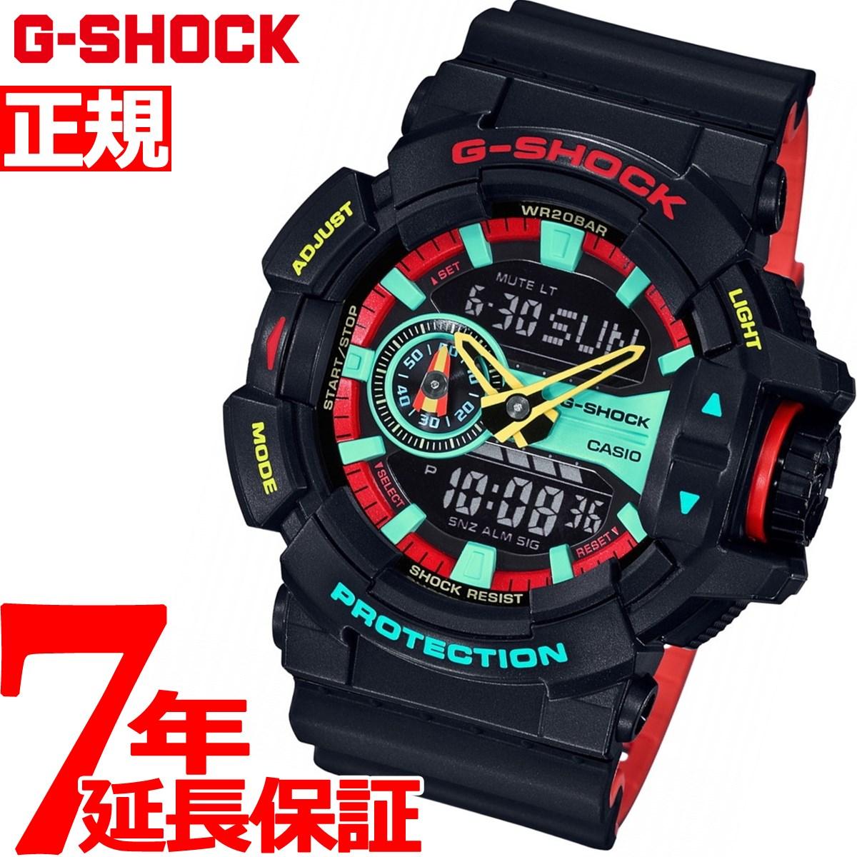 G-SHOCK デジタル カシオ Gショック CASIO 限定モデル 腕時計 メンズ ブリージー ラスタカラー Breezy Rasta Color GA-400CM-1AJF【2018 新作】