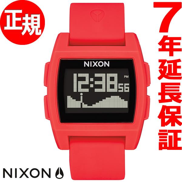 ニクソン NIXON ベースタイド BASE TIDE 腕時計 メンズ レディース レッド NA1104200-00【2018 新作】