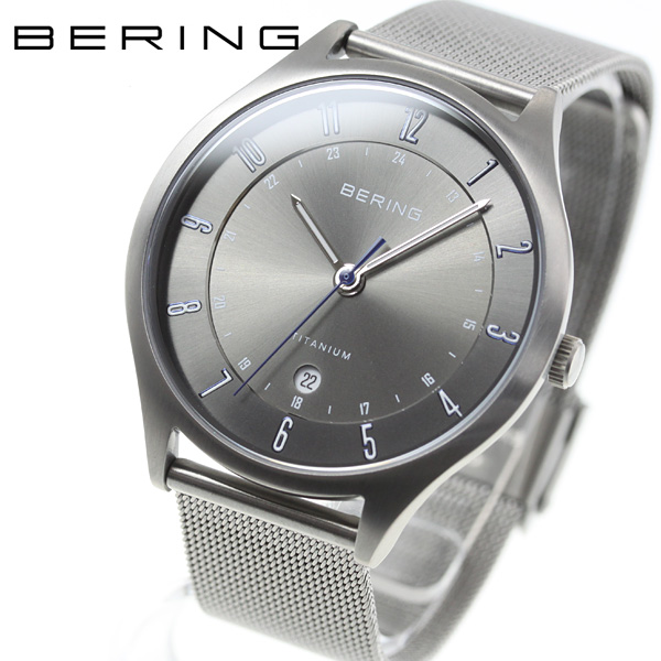 【SHOP OF THE YEAR 2018 受賞】ベーリング BERING 腕時計 メンズ 11739-373【2018 新作】