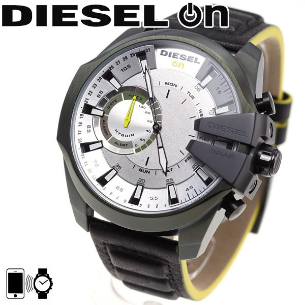 ディーゼル DIESEL ON ハイブリッド スマートウォッチ ウェアラブル 腕時計 メンズ DZT1012【2018 新作】
