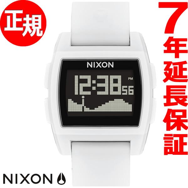 ニクソン NIXON ベースタイド BASE TIDE 腕時計 メンズ レディース レッド/ホワイト/ブルー NA1104083-00【2018 新作】