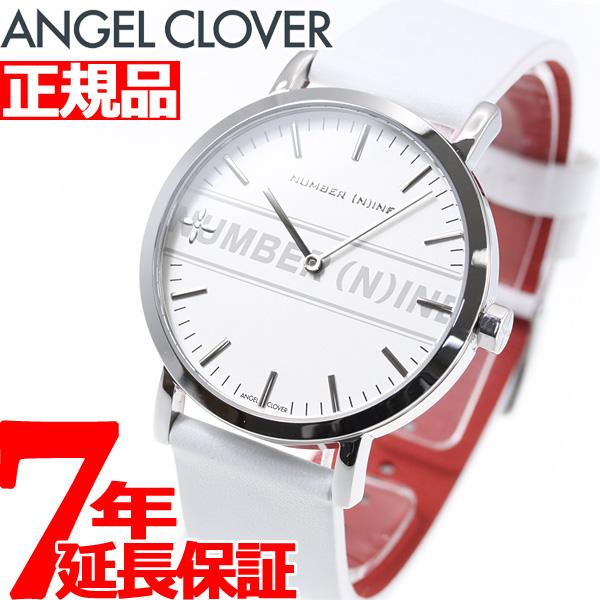エンジェルクローバー ANGEL CLOVER ナンバーナイン NUMBER(N)INE コラボモデル 腕時計 メンズ NNR40SSV-WH【2018 新作】