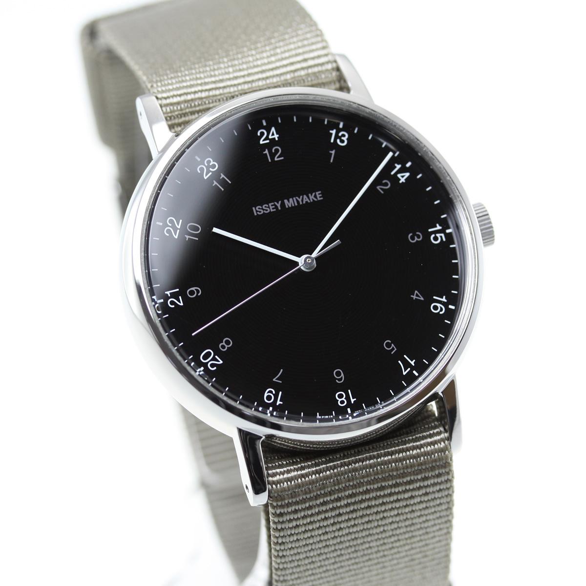イッセイミヤケ ISSEY MIYAKE 腕時計 メンズ f エフ 岩崎一郎デザイン NYAJ004【2018 新作】