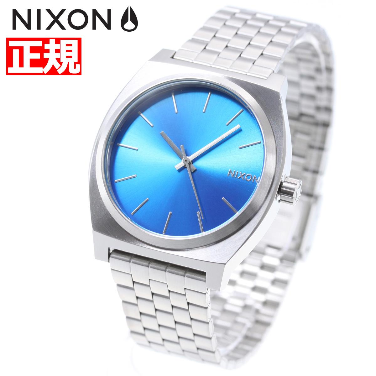 【お買い物マラソンは当店がお得♪本日20より!】ニクソン NIXON タイムテラー TIME TELLER 腕時計 メンズ/レディース ブルー/フロート NA0452797-00