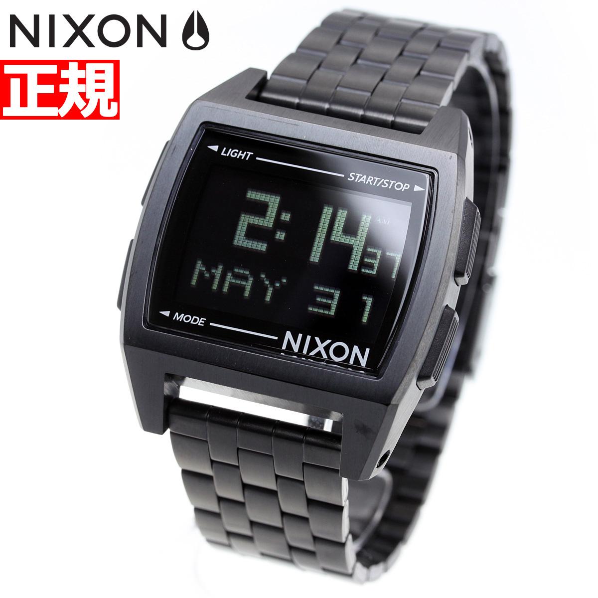 ニクソン NIXON ベース BASE 腕時計 レディース オールブラック NA1107001-00