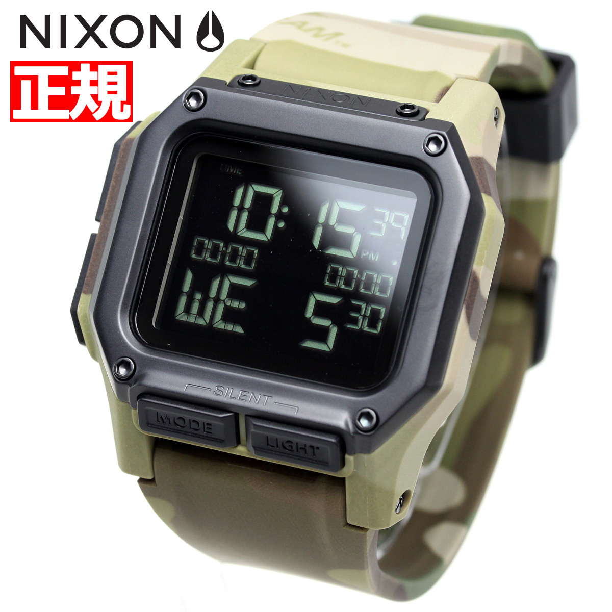 ニクソン NIXON レグルス REGULUS 腕時計 メンズ マルチカム MULTICAM NA11802865-00【2018 新作】