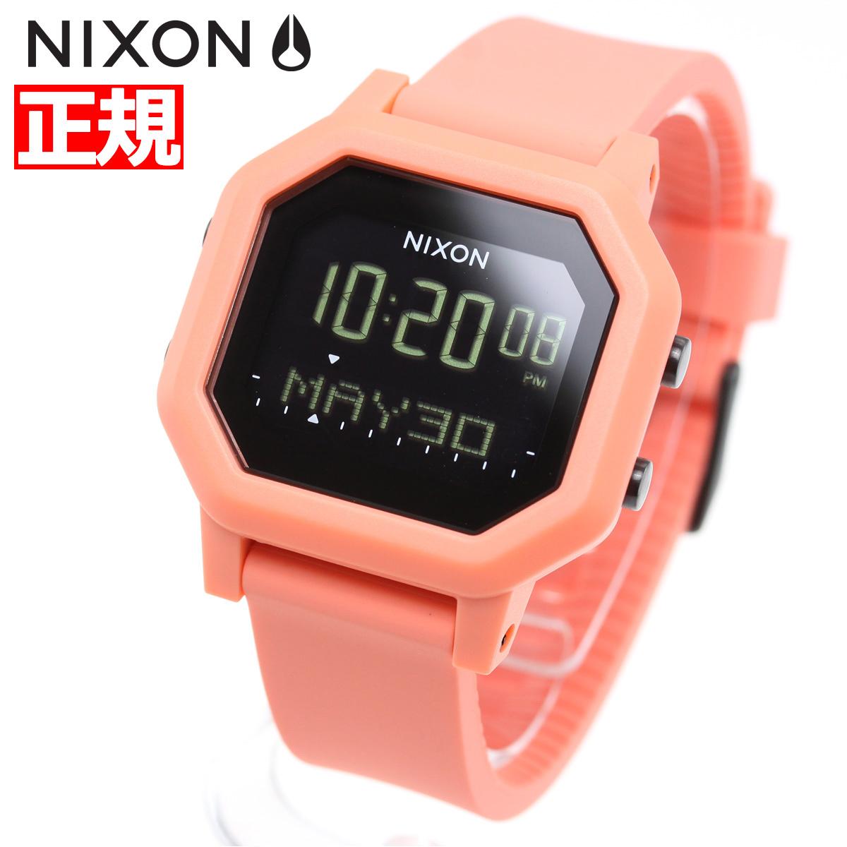 ニクソン NIXON サイレン SIREN 腕時計 レディース LIGHT TANGERINE NA12102876-00【2018 新作】