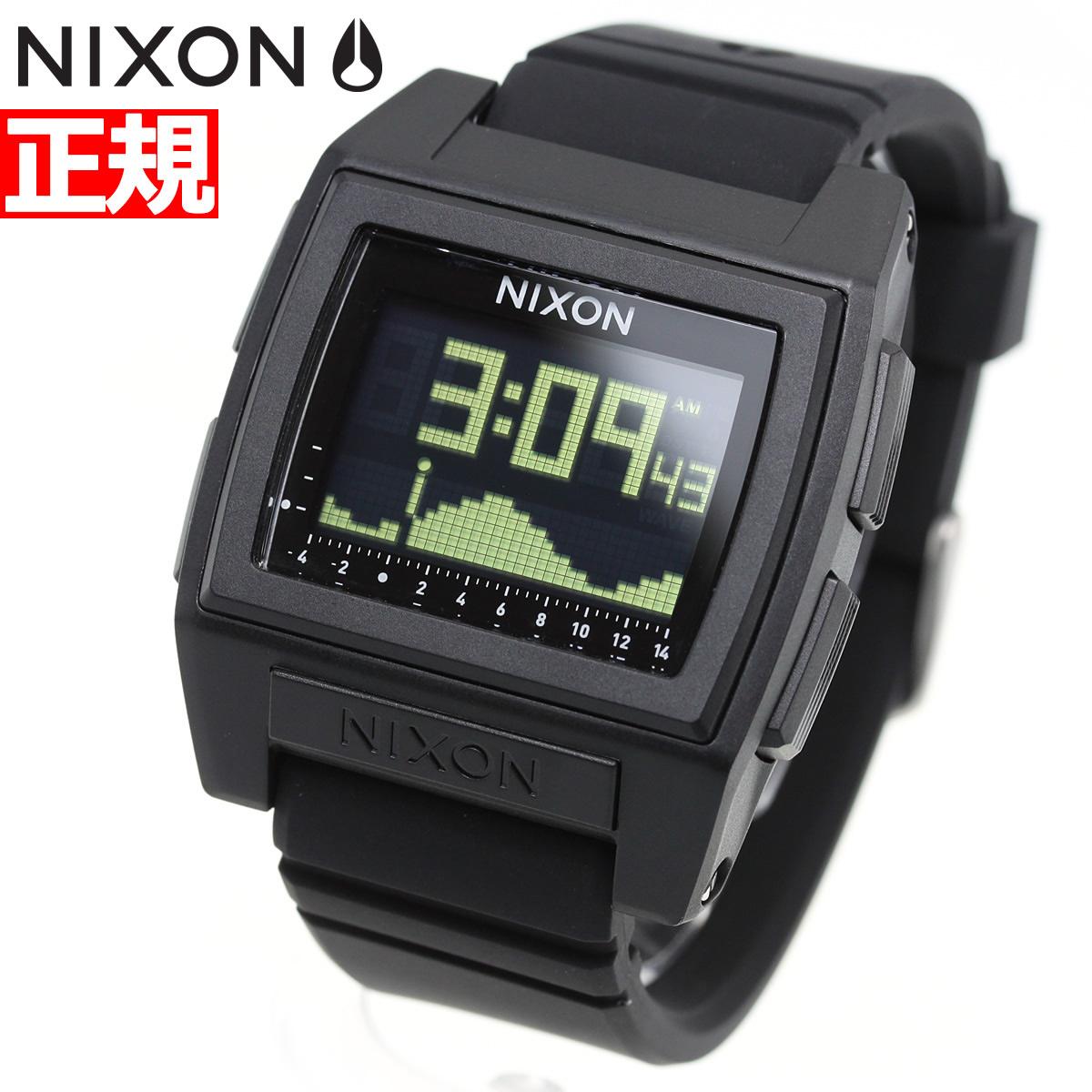 ニクソン NIXON ベースタイド プロ BASE TIDE PRO 腕時計 メンズ レディース BLACK NA1212000-00【2018 新作】