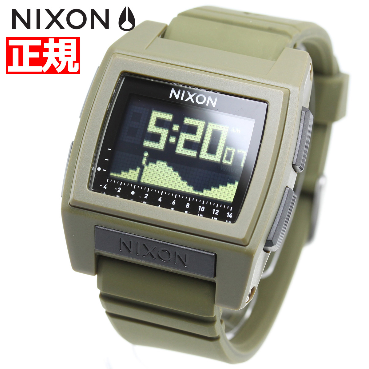 【SHOP OF THE YEAR 2018 受賞】ニクソン NIXON ベースタイド プロ BASE TIDE PRO 腕時計 メンズ レディース SURPLUS NA12121085-00【2018 新作】