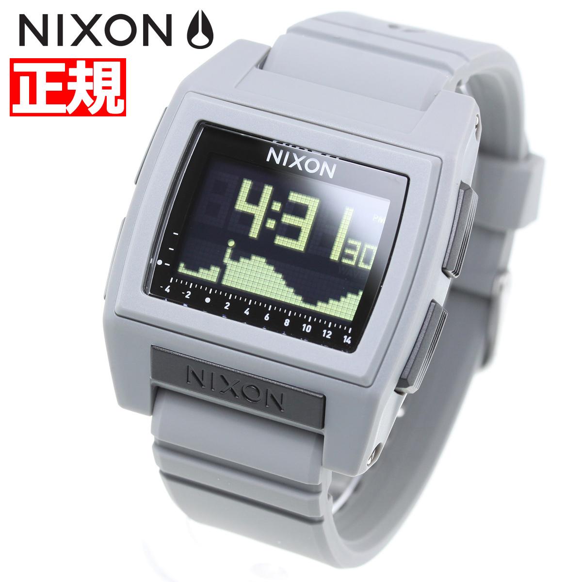 【お買い物マラソンは当店がお得♪本日20より!】ニクソン NIXON ベースタイド プロ BASE TIDE PRO 腕時計 メンズ レディース GRAY NA1212145-00【2018 新作】