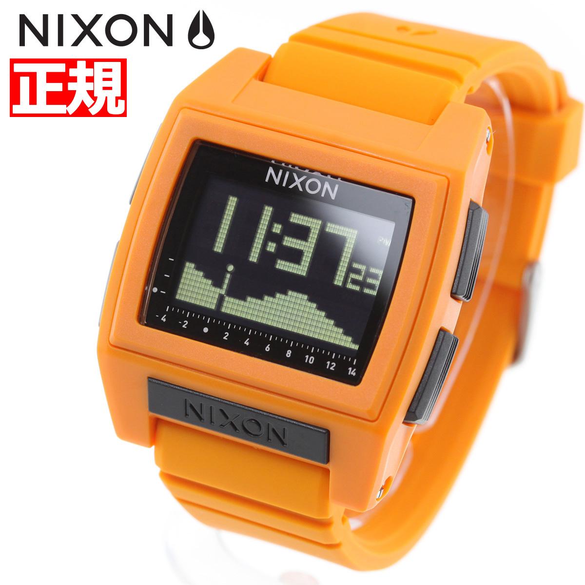 ニクソン NIXON ベースタイド プロ BASE TIDE PRO 腕時計 メンズ レディース ORANGE NA1212211-00【2018 新作】