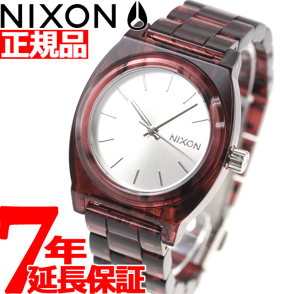 【SHOP OF THE YEAR 2018 受賞】ニクソン NIXON ミディアム タイムテラー アセテート MEDIUM TIME TELLER ACETATE 腕時計 レディース RED NA1214200-00【2018 新作】