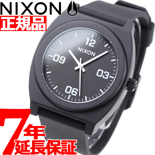 ニクソン NIXON タイムテラーP コープ TIME TELLER P CORP 腕時計 メンズ/レディース マットブラック/ホワイト NA12482493-00【2018 新作】