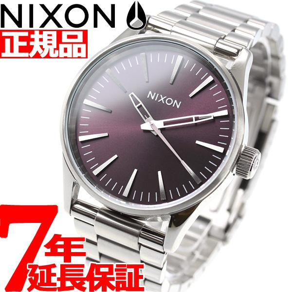 ニクソン NIXON セントリー38 SS SENTRY 38 SS 腕時計 レディース/メンズ プラム NA4502157-00