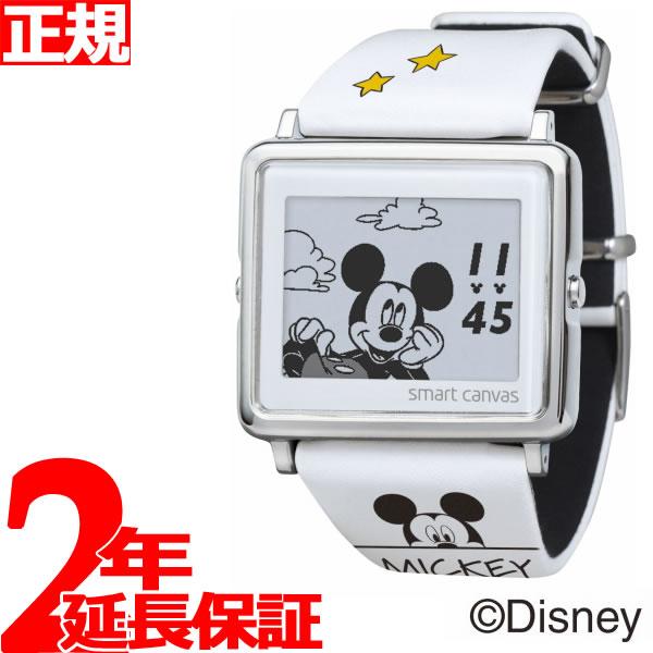 エプソン スマートキャンバス EPSON smart canvas ディズニー Mickey & Friends Mickey Mouse 腕時計 メンズ レディース W1-DY30410【2018 新作】