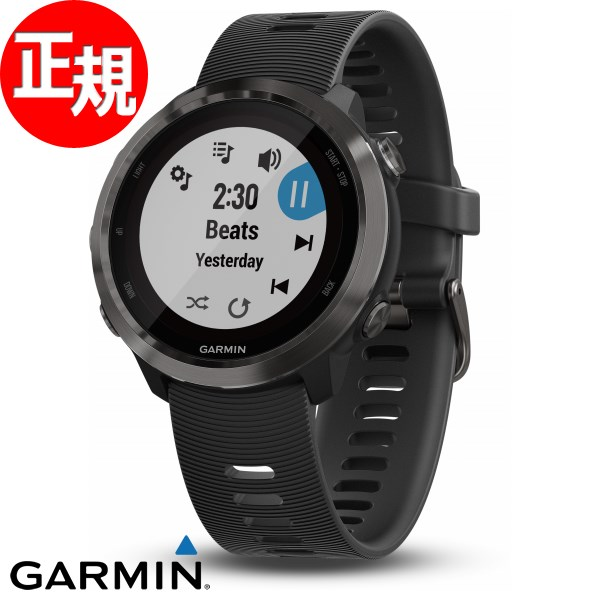 ガーミン フォアアスリート ForAthlete 645 Music GPS内蔵 ランニングウォッチ ウェアラブル端末 腕時計 メンズ レディース Slate 010-01863-D2【2018 新作】
