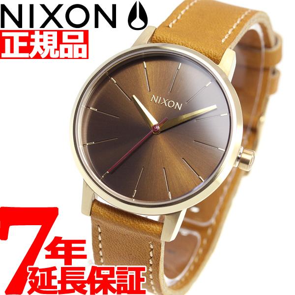ニクソン NIXON ケンジントン レザー KENSINGTON LEATHER 腕時計 レディース ライトゴールド/マヌカ/サドル NA1082804-00