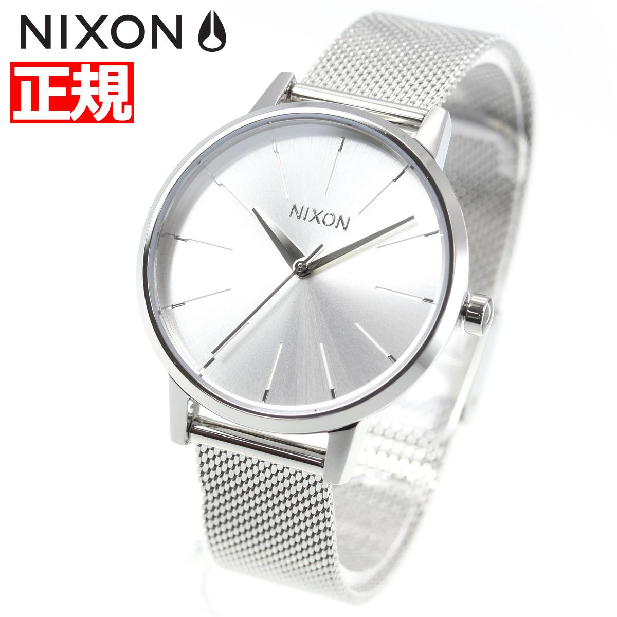 ニクソン NIXON ケンジントン ミラネーゼ KENSINGTON MILANESE 腕時計 レディース ALL SILVER NA12291920-00【2018 新作】