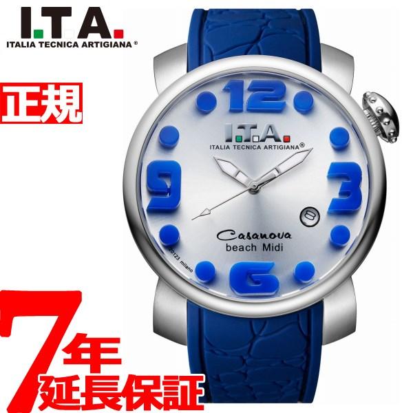 I.T.A. アイティーエー 腕時計 メンズ レディース カサノバ ビーチ ミディ Casanova beachw Midi 19.03.13【2018 新作】